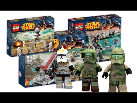 NEW 2014 LEGO Star Wars Winter Set Pictures