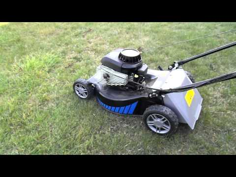 Lawn Mower rough idle problem Briggs & Stratton 450 (brand new mower)