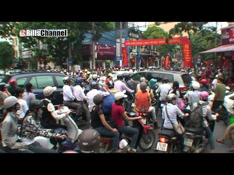 EPIC TRAFFIC GRIDLOCK  HANOI