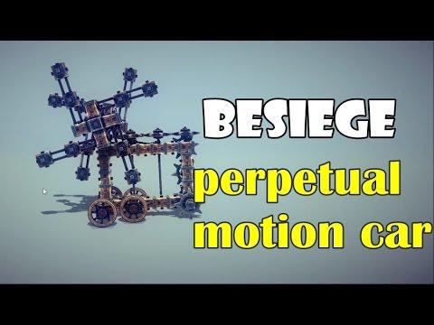 [Besiege] Perpetual motion car