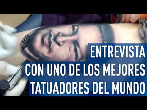 """Tener un tatuaje no califica negativamente a nadie"" - Yomico Moreno, tatuador v"
