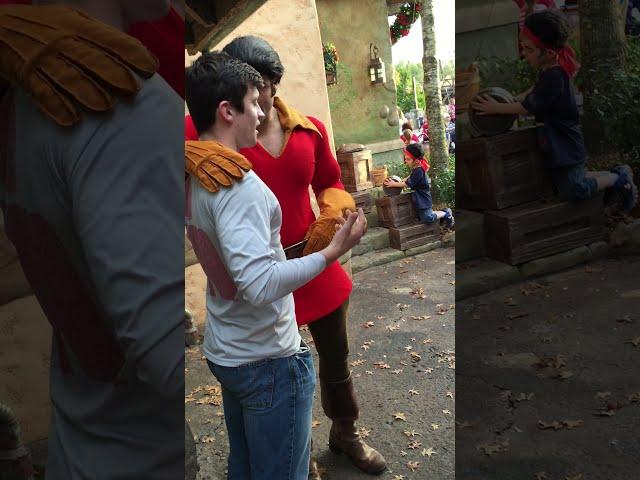 play video: Gaston Push-Up Contest