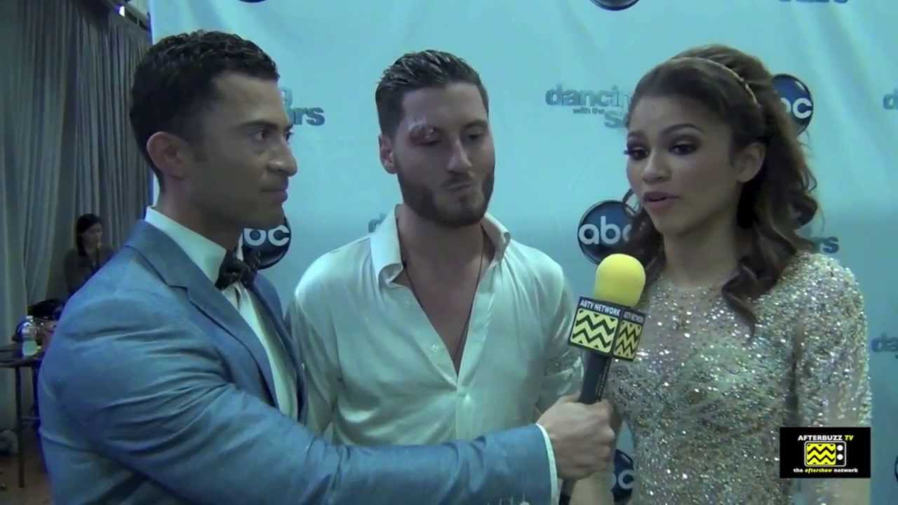 Zendaya Dancing With The Stars Outfit Val Chmerkovskiy  amp Zendaya on