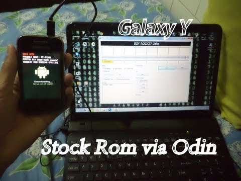 Installing(Flashing) Stock Rom on Samsung Galaxy Y(S5360) using Odin