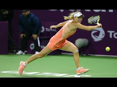 2016 Qatar Total Open First Round | Caroline Wozniacki vs Ana Konjuh | WTA Highlights