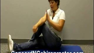 Sciatica Relief / Concord NC Chriropractor Dr Missy demonst