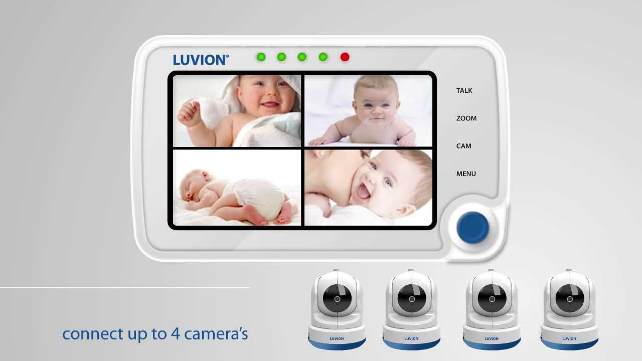 luvion supreme connect baby monitor youtube. Black Bedroom Furniture Sets. Home Design Ideas
