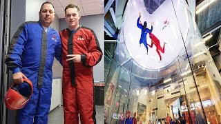 INSANE INDOOR SKYDIVING!