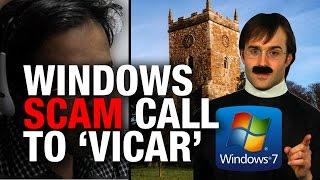 COLD CALL: Windows Virus Scam Tech Team
