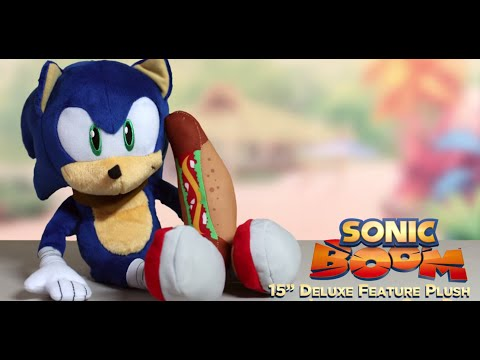 Sonic Boom Deluxe 15 Talking Plush with Chili Dog