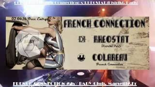 Colabeau x Rheostat (Bassam - Distrikt Paris) @ FRENCH CO #2 at Baby Club, Marseille, FR 02.06.16