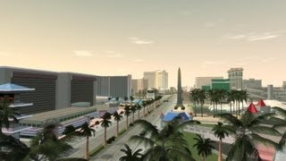 GTA IV : San Andreas Beta ³ World Enhancement - Las Venturas Time Lapse