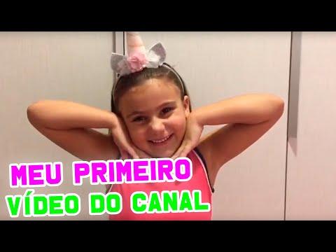 MEU PRIMEIRO VÍDEO - BEM VINDOS AO MEU CANAL