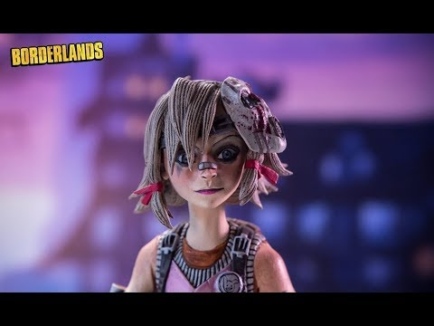 Borderlands 2 Color Tops #36 Tiny Tina - McFarlane Toys Action Figure Review