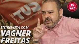 TV 247 entrevista Vagner Freitas presidente da CUT (3.12.18)