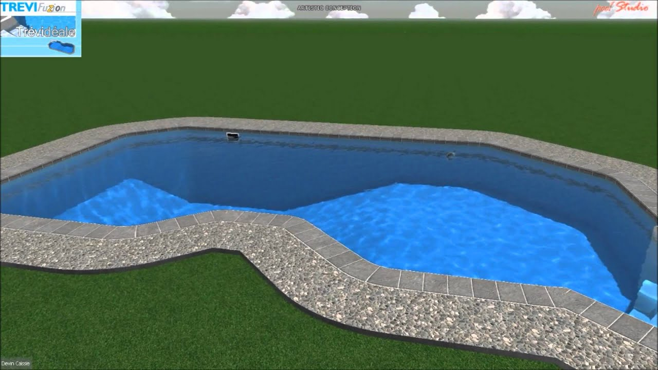 Piscine tr vi fuzion tr vid ale youtube for Piscine trevi