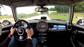 Best Sector Times- Road America- MINI Cooper S