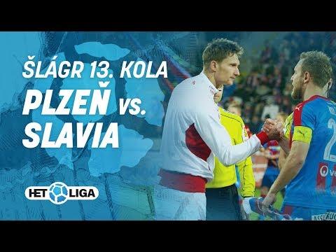 Šlágr 13. kola Plzeň-Slavia ve slow mo