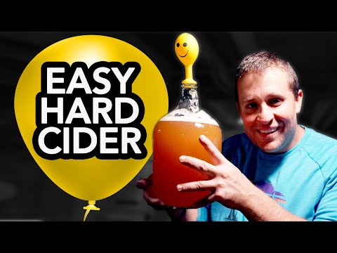 Make Hard Cider with a Balloon (How to)