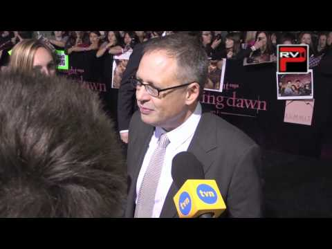 Director Bill Condon interview at the Twilight Breaking Dawn Part 1 Premiere