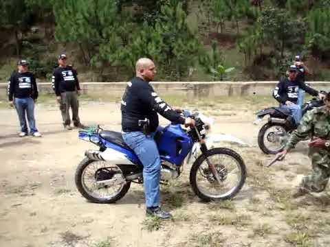 Practica Defensiva en Moto SWAT Guatemala