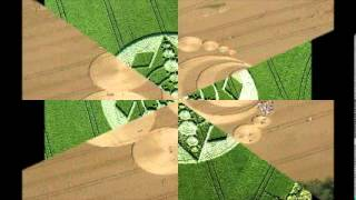 Crop Circles 2012 - Om mantra 2hour meditation with ocean sound - DNA activation