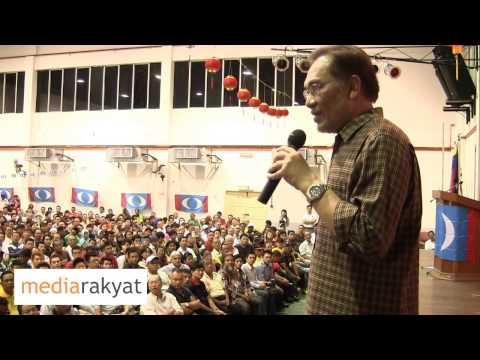 Anwar Ibrahim: Mahathir, You Are Wrong, Don't Insult The Rakyat