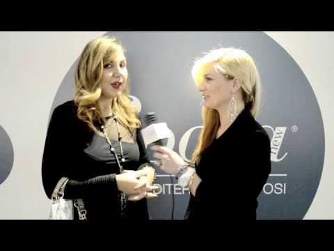 èSposa 2014 Angela Acanfora intervista Francesca Fioretti, madrina della serata