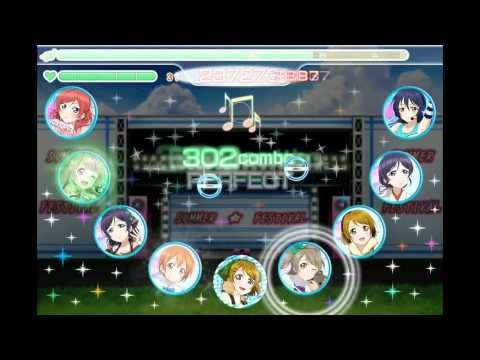 [Airserver test] Love Live! School Idol Festival game play - SCORE MATCH
