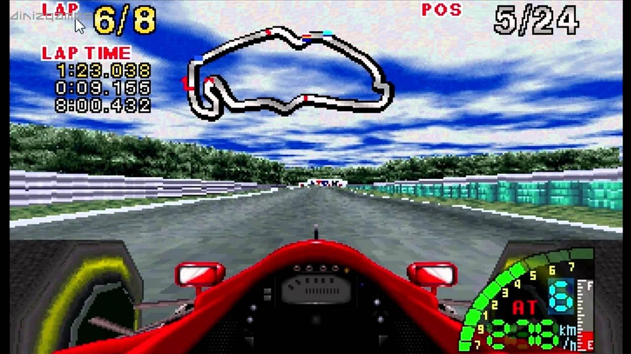 F1 Challenge Hockenheim Sega Saturn 1995 Youtube