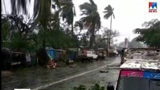 ഒഡീഷയിലും ആന്ധ്രയിലും കനത്തനാശം വിതച്ച് തിത്ലി ചുഴലിക്കാറ്റ് | Titli cyclone