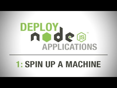 How to deploy node.js applications #1 - spin up a server