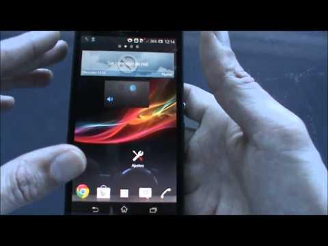 Sony Xperia-Z Análisis Español