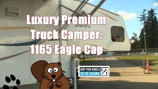Luxury Premium RV Truck Camper 2016 Eagle Cap 1165  Triple Slide