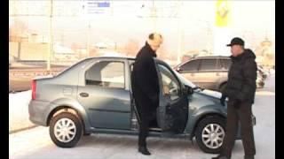 Renault LOGAN 2010 тест с Александром Михельсоном