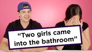 Couples Reveal The Craziest Place They've Hooked Up