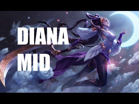 League of Legends - Diana Mid - Full Game Commentary