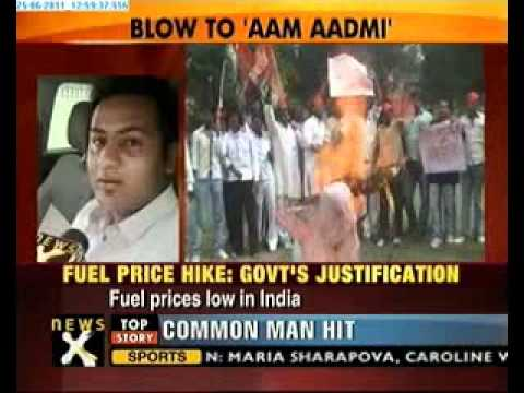 Fuel price hike : Left and right furious, protests on