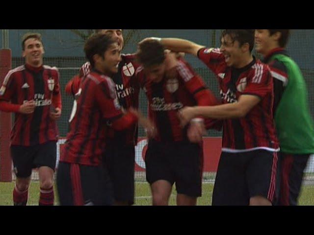 Milan-Cagliari 4-0 Highlights   AC Milan Youth Officia