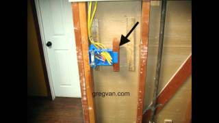 3 Gang Electrical Box Backing - Home Building Tips