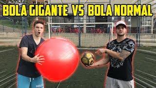 BOLA GIGANTE vs BOLA PEQUENA!! - DESAFIOS DE FUTEBOL