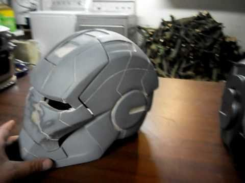 Mark V Iron Man 2 Helmet