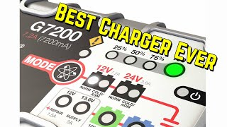 NOCO Genius G7200 Smart Battery Charger Reviews • 2 Thumbs Up • Bundys Garage