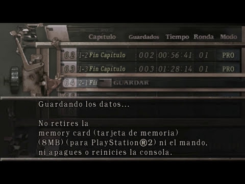 Resident evil 4 Profesional NO DAMAGE Capitulo 2-1