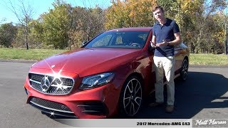 Review: 2017 Mercedes-AMG E 43 Sedan