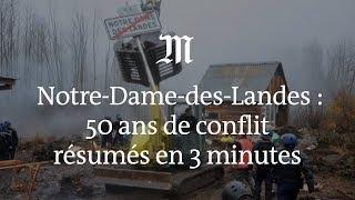 Notre-Dame-des-Landes : 50 ans de conflit résumés en 3 minutes