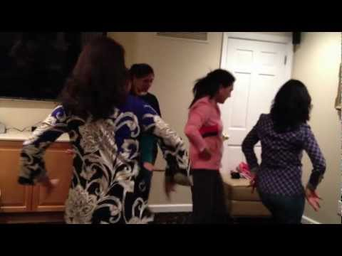 Bahu Swagat Dance - Anubh's Roka Practice video