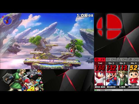 Super Smash Bros 3DS - PRIMEROS COMBATES (Demo)