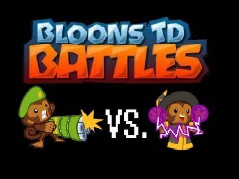 Bloons TD Battles - Tower Battles - #1 Dartling Gun Vs ...