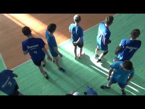 Городские соревнования, волейбол Школа №19, Иркутск. игра 04.02.16 2-я партия